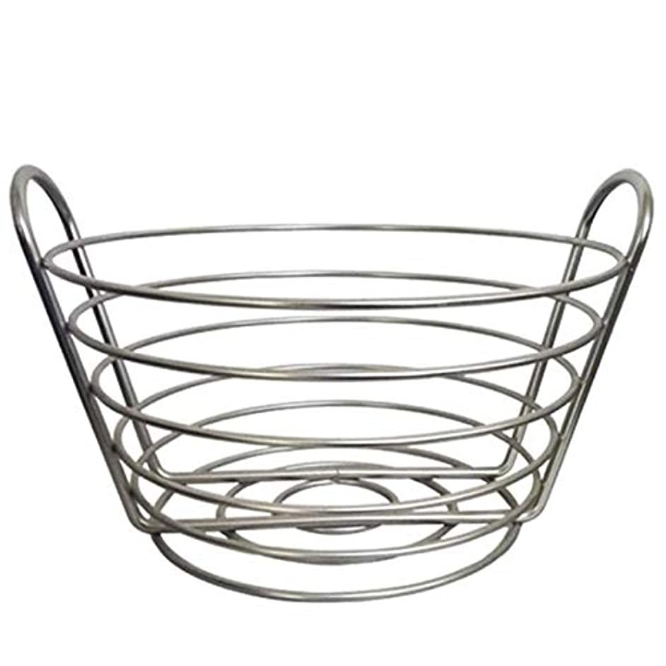 SODIAL Modern Iron Art Fruit Vegetable Bowl Tray Plate Snack Candy Storage Container Basket Kitchen Decoration