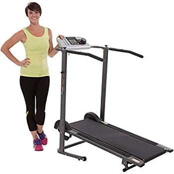 Fitness Reality TR3000 Maximum Weight Capacity Manual Treadmill with  Pacer Control  & Heart Rate System