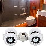 Aoutecen Puerta a Prueba de Herrumbre Cabinas de Vapor con Rodillo Nuevas duchas Cabinas de masajes para duchas