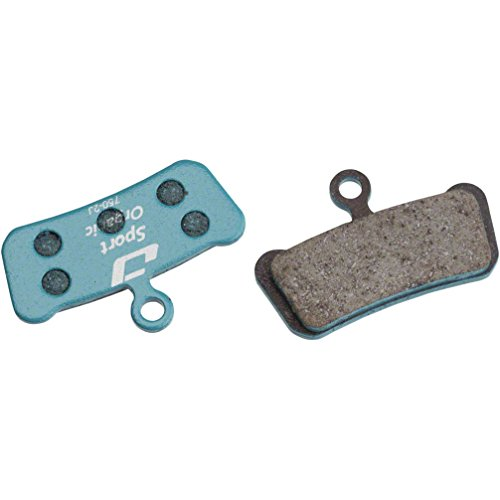 Jagwire Sport Organic Disc Brake Pad-sram Guide–Pastilla de Freno para Adulto, Azul