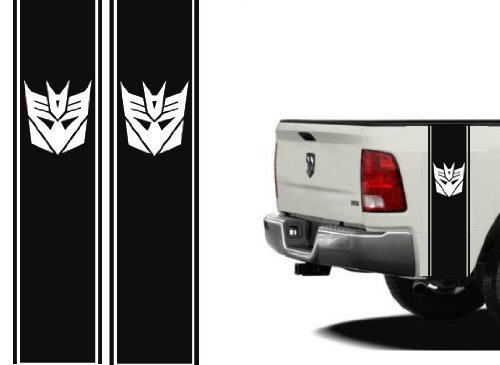 Truck Bed or Car Side Racing Stripe Set Universal 11'x40' Decepticon You Pick the Color