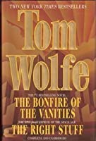 The Bonfire of the Vanities/The Right Stuff 0517119986 Book Cover