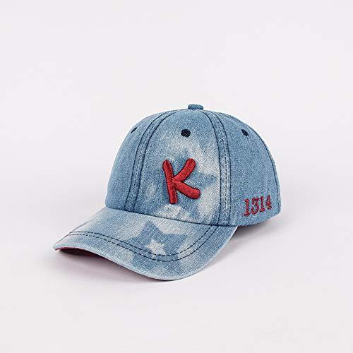 Sombrero para niños Nueva Tendencia Alfabeto Coreano Vaquero Hip-Hop niño niña Gorra de béisbol Hip-Hop Sombrero de bebé Digital