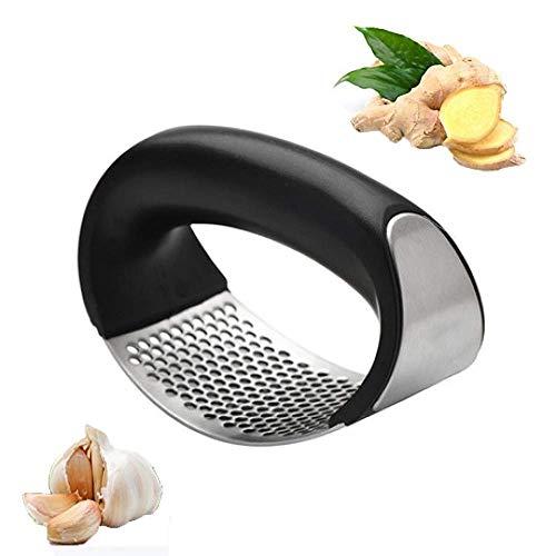 Jintes Neue Küche Edelstahl Knoblauchpresse Täglich nützliche Kochgeräte Knoblauchpressen