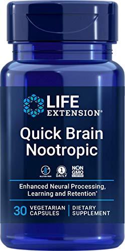Life Extension Quick Brain Nootropic, 30 Count