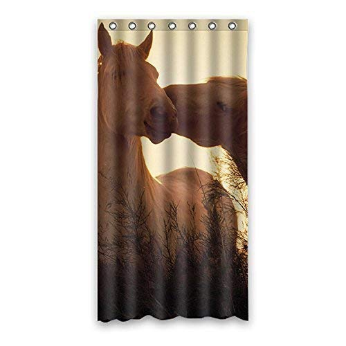 Setyserytu Duschvorhang,Once Young Beautiful Pony Custom White Waterproof Polyester and Non-Molded Shower Curtain Bathroom Decoration (150 x 183 cm) Polyester 60