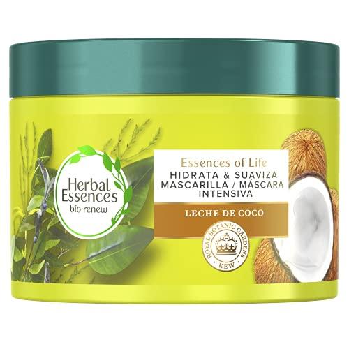 Herbal Essences Mascarilla Concentrada Hidratante Con Leche De Coco Para Pelo Muy Seco 450 ml
