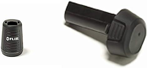 FLIR Battery Charger for E4, E5, E6, E8 Thermal Cameras w/FLIR T199362ACC - Spare Battery for FLIR EX and EX-XT Series Infrared Cameras