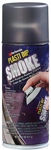 Plasti Dip Performix 11220 Smoke Multi-Purpose Rubber Coating Aerosol - 11 oz.