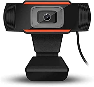 HD Webcam 1280 x 720p Streaming Web Camera with l Microphones, Webcam for Gaming Conferencing & Working, Laptop or Desktop Webcam, USB Computer Camera for Mac Xbox YouTube Skype OBS