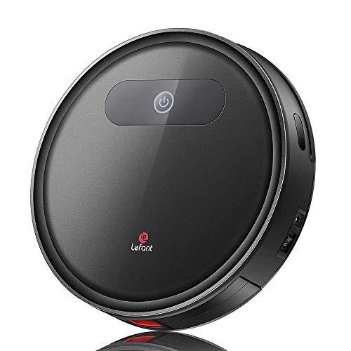 Robot Aspirapolvere Lefant con Tecnologia FreeMove, 1800Pa di Aspirazione, Design Sottile, Funzionalità Super Silenziosa, Ideale per...