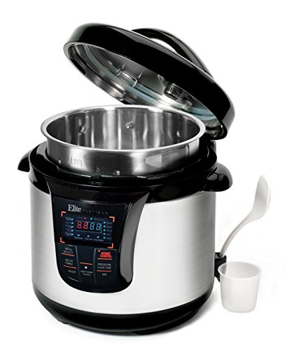 Maximatic Elite Platinum Instapot 8 Quart Pressure Cooker