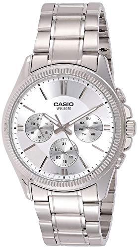 Casio Enticer Men Analog White Dial Men's Watch - MTP-1375D-7AVDF(A837)