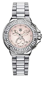 TAG Heuer Women's CAC1311.BA0852 Formula 1 Diamond Accented Chronograph Watch
