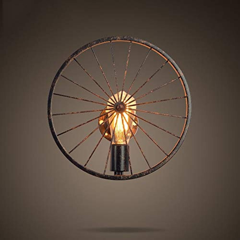 Retro Beleuchtung kreative Persnlichkeit Restaurant Bar amerikanischen Dorf Eisen industrial Wind die Wandleuchte lesen