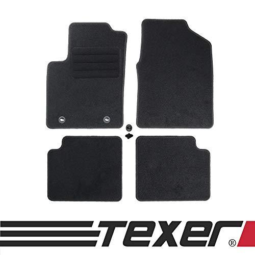 CARMAT TEXER Textil Fußmatten Passend für Ford Ka II Bj. 2008-2016 Basic