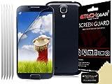 Techgear - Protector de pantalla LCD para Samsung Galaxy S4 Mini i9190/i9195 (5 unidades, antirreflejante), acabado mate