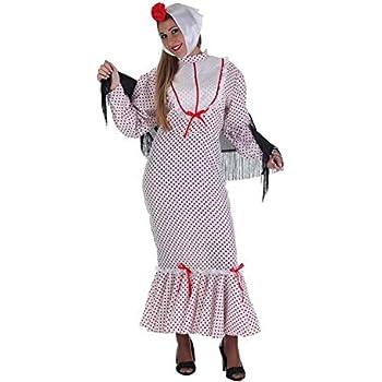 LLOPIS - Disfraz Adulto chulapo Coral: Amazon.es: Juguetes y juegos