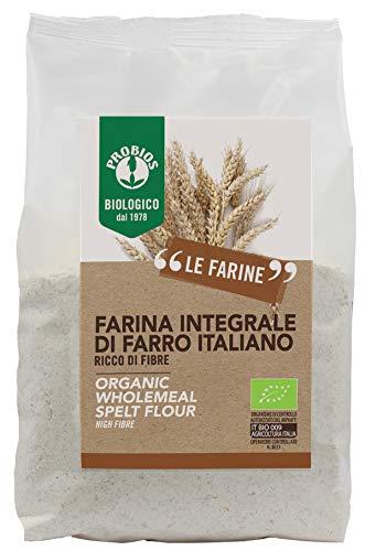 Probios Farina di Farro Integrale - 6 pezzi da 500 g [3 kg]