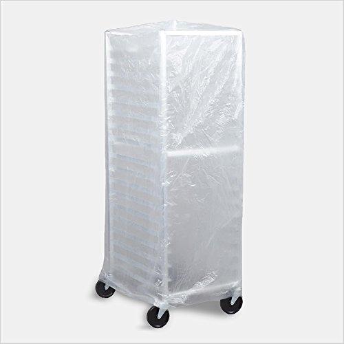 Tronex- Bun Pan Rack Covers, High Density Polyethylene, Satin Clear (Case of 50 Covers)