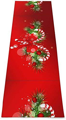 Toalla De Yoga Antideslizante,Feliz Navidad Colchoneta Ecológica Para Ejercicios De Fitness Para Entrenamiento Y Hogar,Colchoneta De Gimnasia,Ejercicios De Suelo Y Colchoneta De Fitness Pilate Para