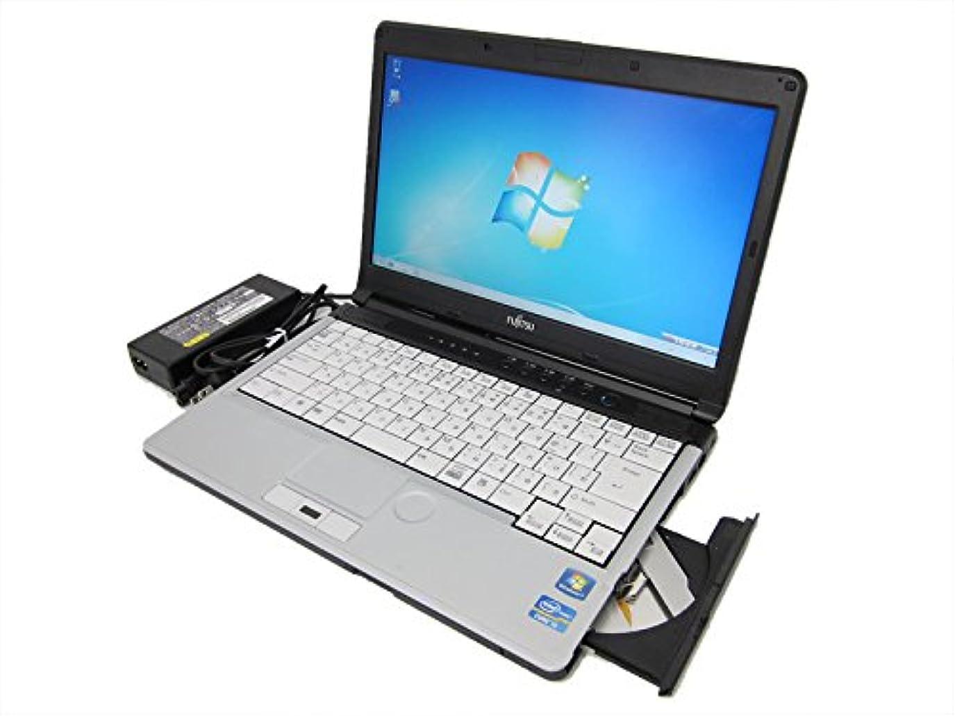 腹痛オーナメント奇妙な中古 ノートパソコンメモリ4GB Windows7 富士通 LIFEBOOK S761/C Core i5 2520M(2.5GHz) DVDマルチ 無線LAN