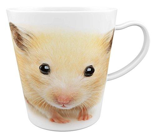 Hamster - Zwerghamster - Feldhamster |Latte Macchiato Becher Kaffeebecher mit Fotodruck |001
