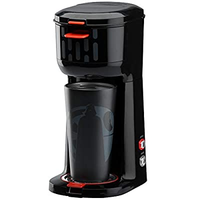 Star Wars Dual Brew Single Serve Coffee Maker for Capsules or Ground Coffee