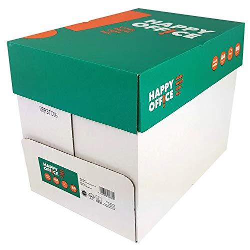 Kopierpapier 80g A4 weiss Happy Office 2500 Blatt