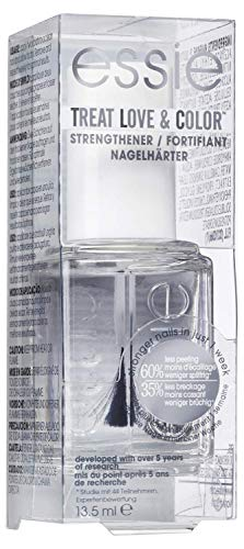Essie Pflegender Nagellack Nr. 0 gloss fit, Regeneration & Glanz, Klar, 13,5 ml