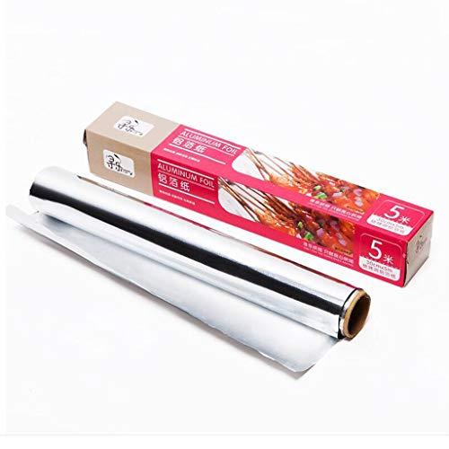 DALL Aluminium Folie Papier Hittebestendige Keuken Catering Tinfoil Papier Grill Oven Bakken Voedsel Wrap Barbecue Vlees