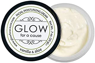 Glow for a Cause Facial Moisturizing Cream Travel Size (Vanilla & Aloe)