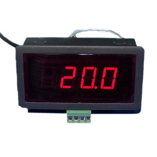 tasso-store Temperatur Meßgerät Thermometer LED Digital Dispay für PT100 Sensoren Sensor NEU