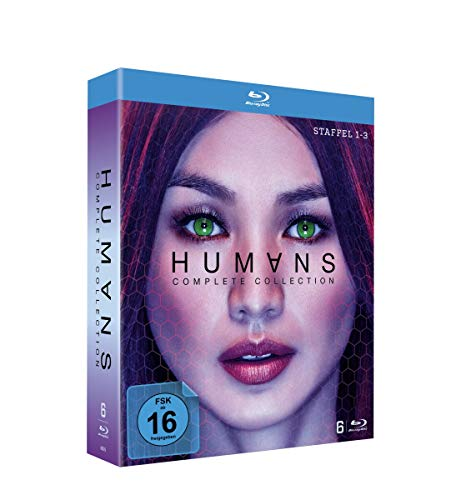 Humans - The Complete Collection (Season 1-3) [Blu-ray]