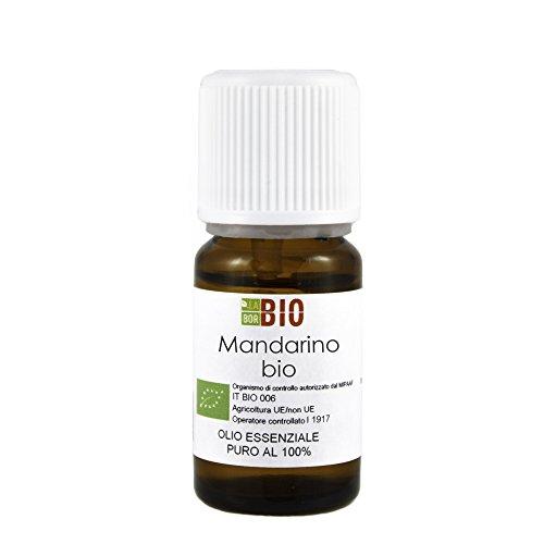 Olio essenziale MANDARINO BIO 10ML 100% PURO E NATURALE - AROMATERAPIA COSMETICA...