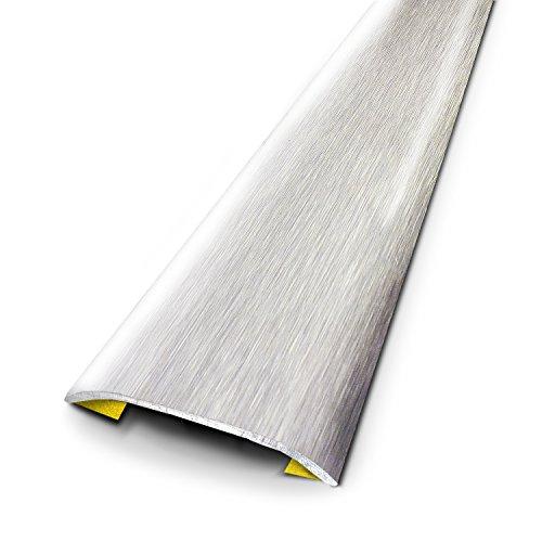 3M 640119d umbral Déco acero inoxidable cepillo 83cm x 3,7cm), color gris claro