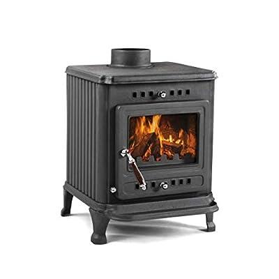 Evergreen ST0406 Poplar 8 kW Multi Fuel Wood Burning Stove