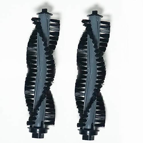 2 Hauptbürste für Ecovacs Deebot M82 mit grauer Hauptbürste, Zubehör/Ersatzteile für Ecovacs Deebot M82