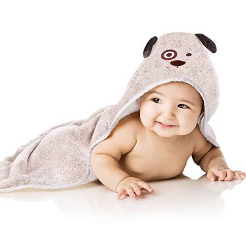 Toalla Bebé con Capucha Capa de Baño Bebé Súper Absorbente Suave Amigable con la Piel Regalo Niño y Niña Recien Nacidos MUBYTREE