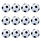 Foosball Balls Official Table Soccer Replacement Balls White 12 Pack