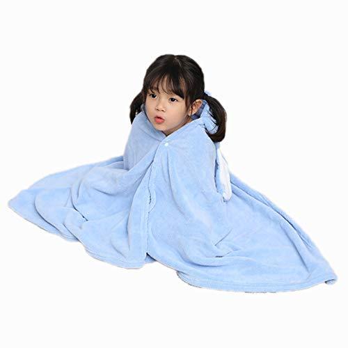 ZXJ Children's Bad Handdoeken, Hooded Baby Handdoek Kinderen Draagbare Mantel Herfst Winter Dikke Badjas Super Zachte Pasgeboren Baby Badjas voor Meisje Jongen Baby