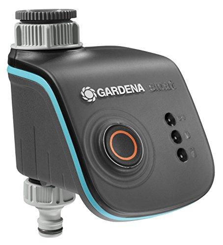 Gardena smart Water Control: Intelligenter Bewässerungscomputer mit smart App steuerbar, Frostwarnsystem, bewährte Ventiltechnik, ideal geeignet für Micro-Drip-System oder Sprinklersystem (19031-20)