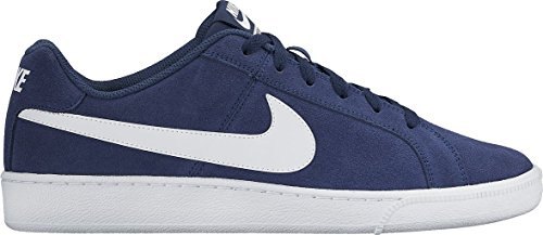 Nike Court Royale Suede Zapatillas de tenis Hombre, Azul (Midnight Navy / White), 43 EU