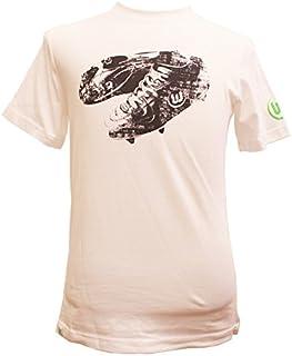 VfL Wolfsburg T-Shirt Fußballschuh weiß