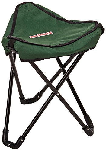 Reliance Products TRI-TO-GO | Portable Toilet/Camp Stool | 300 Pound Capacity, Green, Small (SS-SMS-4004452)