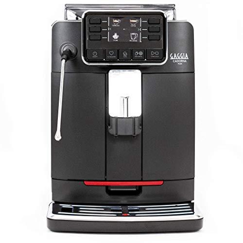Gaggia Cadorna Barista Plus Super-Automatic Espresso Machine, Black, Medium