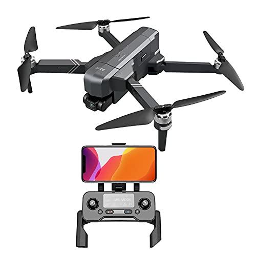 GPS Quadcopter 5G FPV Drone di trasmissione con videocamera 4K HD per adulti Droni con 35 minuti di tempo di volo Motore brushless con True 2D ESC PTZ 1 batteria extra + scatola di immagazzinaggio