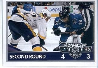 2016-17 Panini NHL #476 San Jose Sharks vs. Nashville Predators 2016 Stanley Cup Playoffs Hockey Sticker
