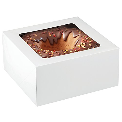 Wilton 12-Inch Cake Box with Window for 10-Inch Cake, 2-Piece Set