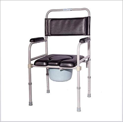 Toilettenstuhl Multifunktionale Mobilität Toilettensitz Medizinische Hilfe Senioren & Handicap Rehab Chair & Bath Shower